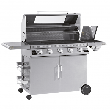 BARBECUE A GAS BEEFEATER DISCOVERY 1100S 5 FUOCHI