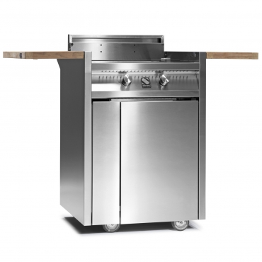 STEEL GREEN 70 BARBECUE I7C-2