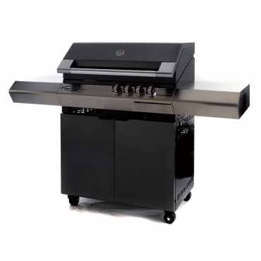 BARBECUE A GAS DOLCEVITA TURBO CLASSIC 4 CON FORNELLO LATERALE