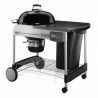 WEBER PERFORMER DELUXE GOURMET GBS CHARCOAL GRILL Ø 57 CM
