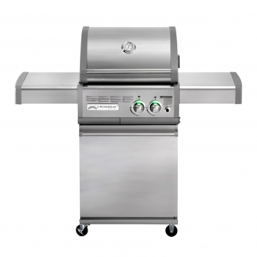 BARBECUE A INFRAROSSI A GAS CROSSRAY 2 BURNER