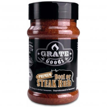 GRATE GOODS BEEF OR STEAK BBQ RUB