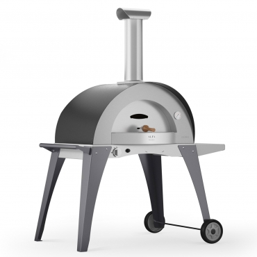 ALFA DOMO FORNO PIZZA A GAS CON BASE
