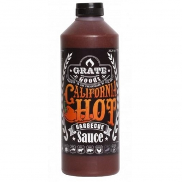 CALIFORNIA HOT BARBECUE SAUCE