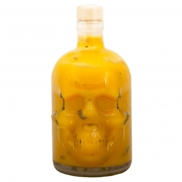 SKULL HOT SAUCE - MEXICAN HABANERO FEVER