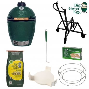 BIG GREEN EGG L PACCHETTO STARTER