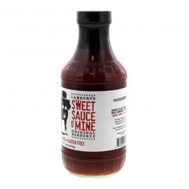 SWEET SAUCE O'MINE ORIGINAL BARBEQUE