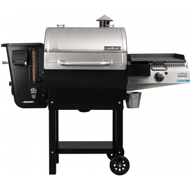 "BARBECUE A PELLET CAMP CHEF 24"" WIFI WOODWIND CON BRUCIATORE LATERALE"