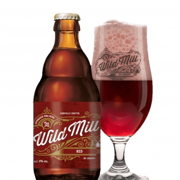 THE WILD MILL RED BEER 33 CL