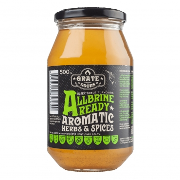 ALL BRINE READY AROMATIC HERBS & SPICES GRATE GOODS - 475 ML