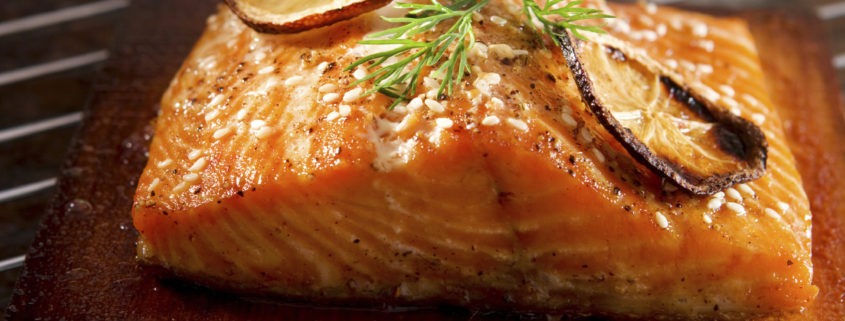 cedar plank grilled salmon orange 845x321