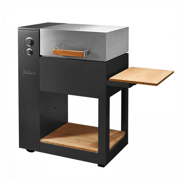 BARBECUE A PELLET LEIF GRILLSON