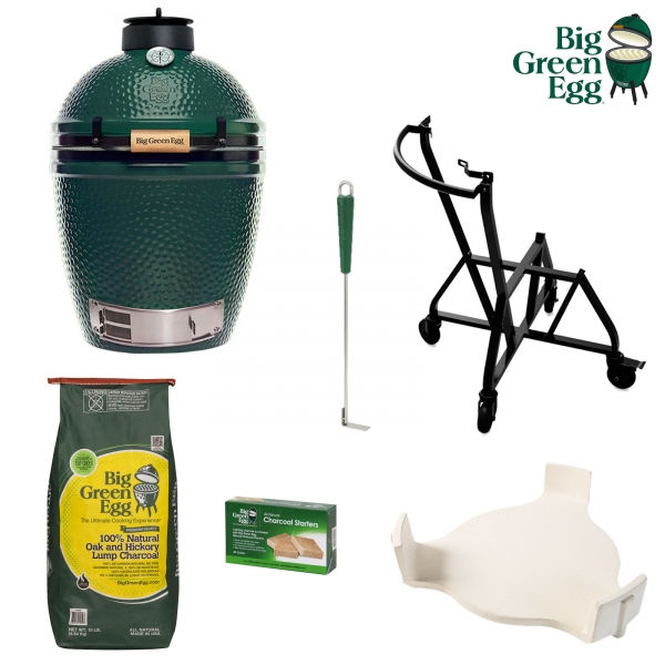 BIG GREEN EGG M PACCHETTO STARTER