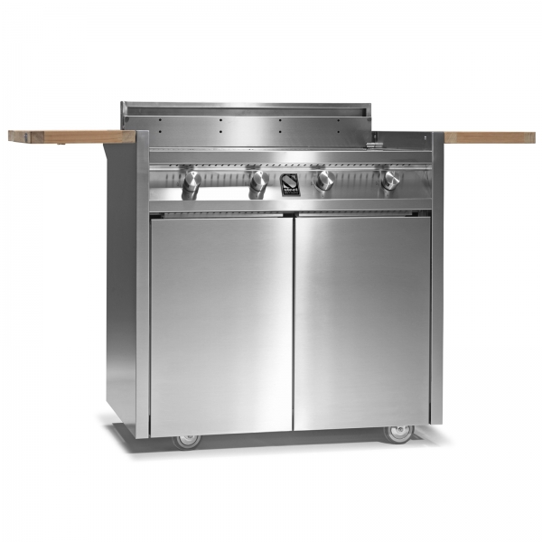 STEEL GREEN 90 BARBECUE I9C-4