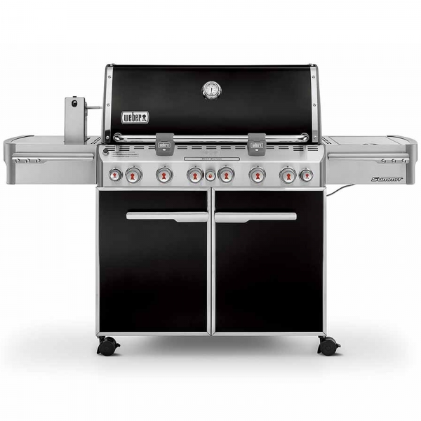 WEBER SUMMIT E-670 GBS GAS GRILL